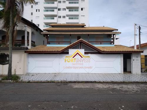 Sobrado Com 4 Dormitórios À Venda, 450 M² Por R$ 1.200.000,00 - Balneário Flórida - Praia Grande/sp - So0146