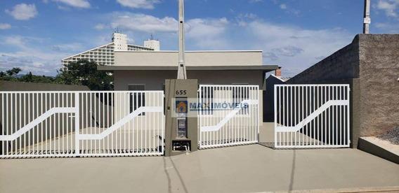 Casa Com 2 Dormitórios À Venda, 60 M² Por R$ 250.000 - Jardim Santo Antônio - Atibaia/sp - Ca0414