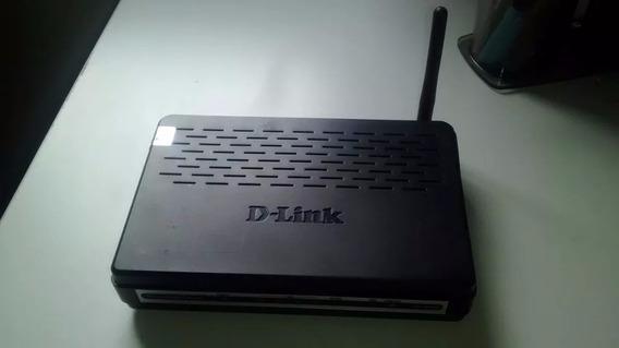 Roteador D-link Modelo: Dsl-2640b Original/ Somente Roteador