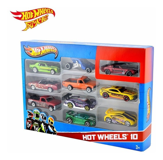 10 Carrinhos Básicos Sortidos - Hot Wheels