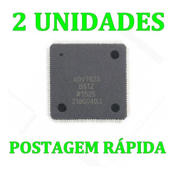 Kit 2 Unidades - Ci Smd Adv7623bst Adv7623bstz Adv7623 Qfp