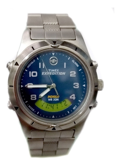 Timex Expedition Combo Indiglo T44653