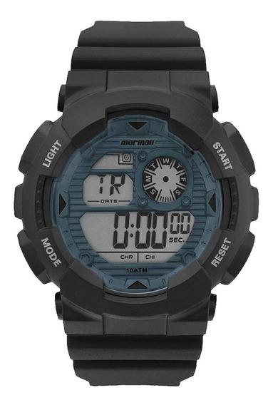 Relógio Mormaii Masculino Wave Preto Mo3415d8a