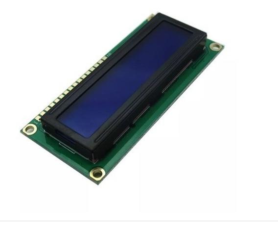 5x Display Lcd 16x2 Backlight Azul