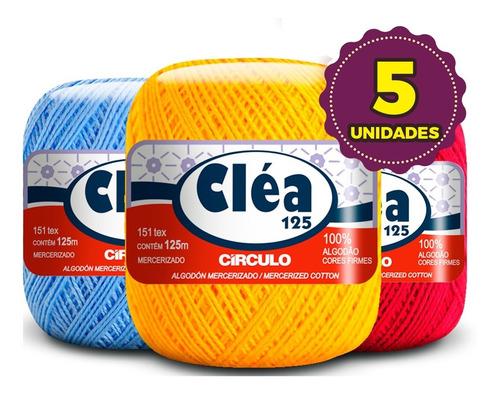 Linha Cléa 125m Círculo - Kit 5 Unid * Promoção