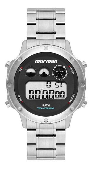 Relógio Mormaii Masculino Ref: Mobj3753aa/1p Prata