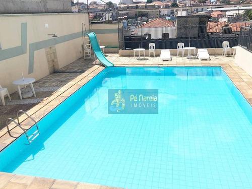 Imagem 1 de 14 de Apartamento Com 2 Dormitórios,semi Mobiliado, Piscina, 1 Vaga, À Venda, 43 M² Por R$ 300.000 - Parque Peruche - São Paulo/sp - T2p811a - Ap0119