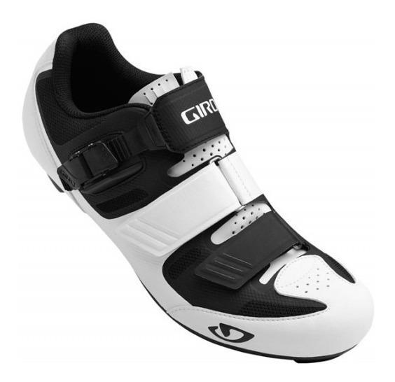Zapatillas Ciclismo Giro Apeckx 2 Ruta Blanco Negro - Racer