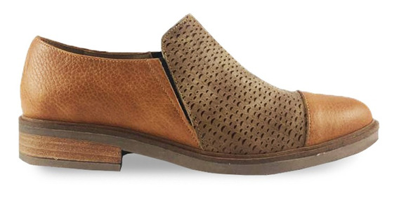 Zapato De Cuero 915 Doble Elástico Abiel