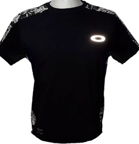 Camisa Camiseta Blusa Oakley Refletivo Olho De Gato