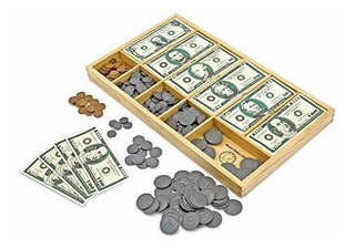 Melissa Y Doug Play Money Set Juguete Educativo Con Billetes