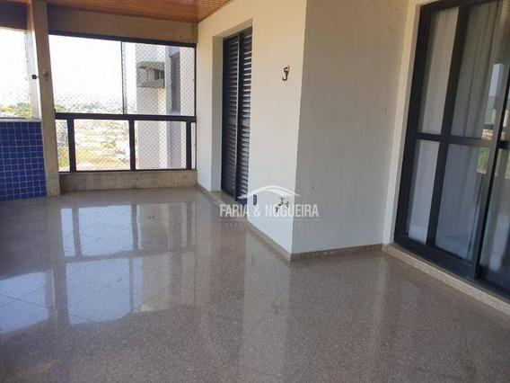 Apartamento Com 3 Suítes Para Alugar Por R$ 2.200/mês - Edifício São Lourenço, Centro - Rio Claro/sp - Ap0394