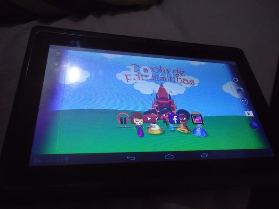 Tablete Navcity Nt1711 Wifi 4gb Dualco Para Retirar Leia