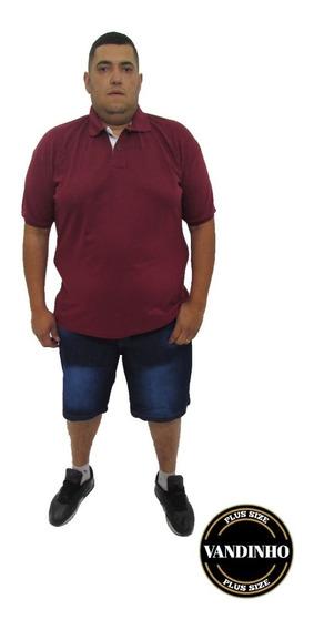 Camisa Polo Tamanho Extra Grande- 3 Peças