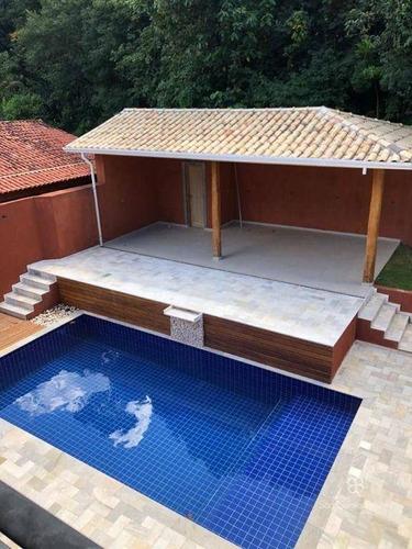 Imagem 1 de 2 de Casa Com 4 Dormitórios À Venda, 500 M² Por R$ 1.950.000,00 - Granja Viana - Jandira/sp - Ca1874