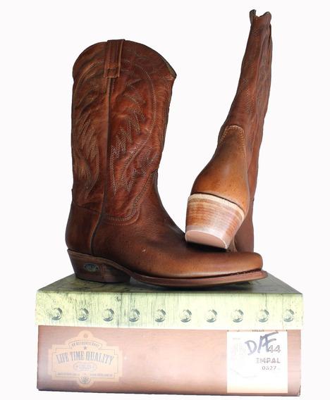 Botas Vaqueras Texanas Loblan Nuevas Puro Cuero Modelo 0627m