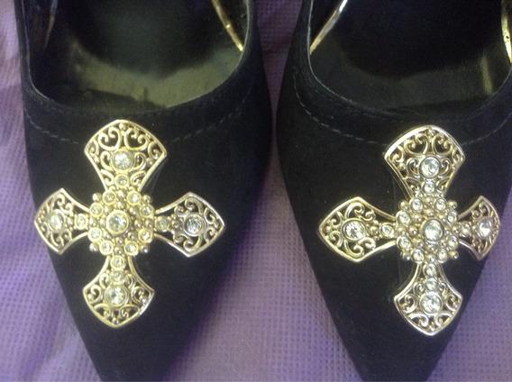 Permuto Zapatos Dama Con Taco Carmen Steffens