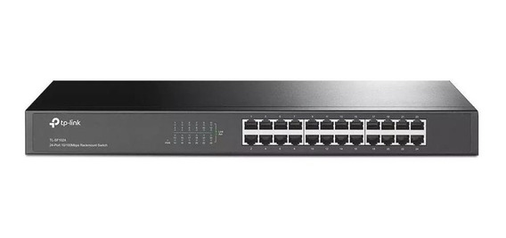 Tp-link Switch 24 Puertos 10/100mbs Tl-sf1024 Rackeable R19