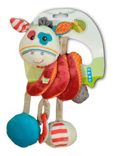Burrito Peluche Espiral Chifle, Crunchy ,bebe * Sheshu Toys