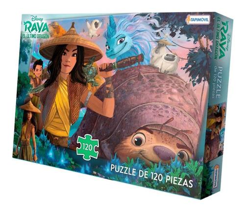 Imagen 1 de 3 de Puzzle De 120 Piezas Rompecabezas Disney Raya
