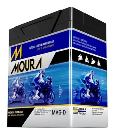 Bateria Moto Moura Honda Xr 250 Tornado Ytx7-bs 12v 7htz 6ah