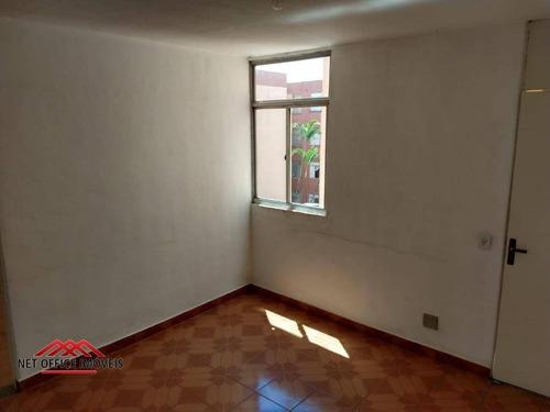 Imagem 1 de 30 de Apartamento Com 2 Dormitórios À Venda, 68 M² Por R$ 159.000 - Condomínio Parque Das Américas - Vila Industrial - São José Dos Campos/sp - Ap1508
