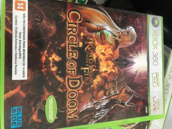 Kingdom Under Fire Circle Of Doom - Xbox 360 - Usado