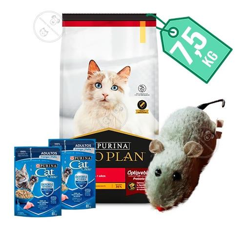 Imagen 1 de 2 de Alimento Gato Pro Plan Adulto  7,5 Kg + Obsequio