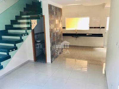 Casa Com 3 Dormitórios À Venda, 68 M² Por R$ 259.000 - Balneário Maracanã - Praia Grande/sp - Ca0697