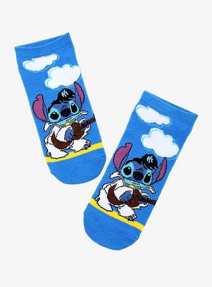 Disney Calcetas Lilo & Stitch Elvis Stitch Talla Única 2019