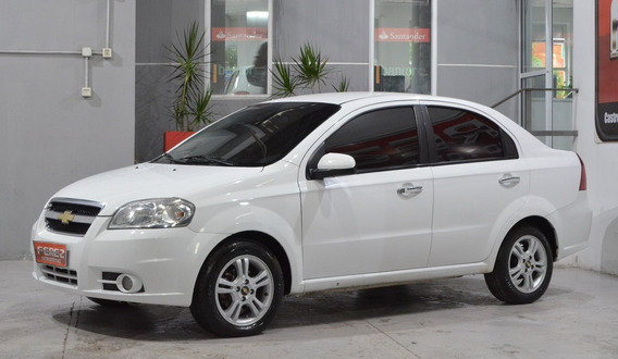 Chevrolet Aveo Lt 1.6 Nafta 2011 4 Puertas Color Blanco