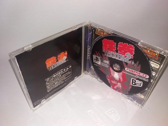 Jogo Tekken 2 Original Playstation 1 Ps1 Psone Frete Gratis