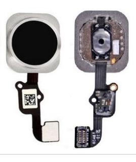 Cabo Flex Com Botão Home iPhone 6s E 6s Plus - Preto