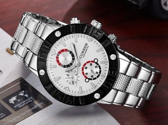 Reloj Curren - Acero Inoxidable.