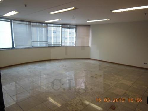 Imagem 1 de 15 de Conjunto Comercial Para Locação Em São Paulo, Jardim Paulista, 2 Banheiros, 5 Vagas - 017_1-999835