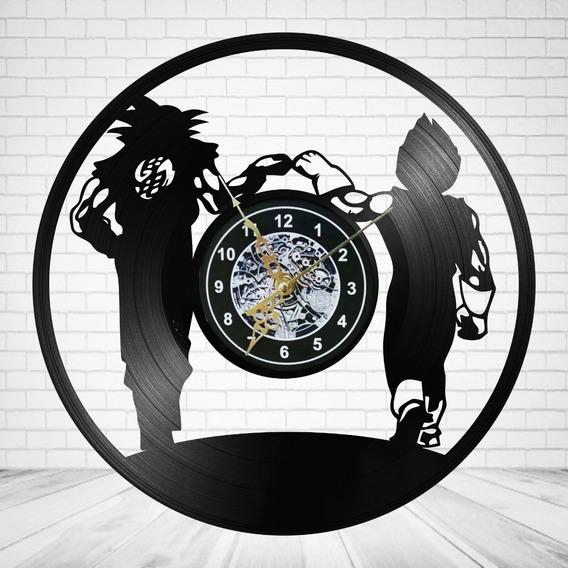 Reloj De Pared Dragon Ball Hombre Vinil