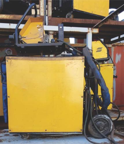 Maquina De Solda Mig Esab - Lab 475 - 2696