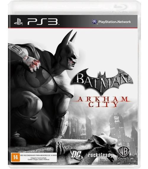 Batman Arkham City - Mídia Física / Ps3