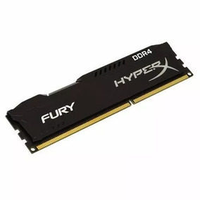 Memória Kingston Hyperx Fury Ddr4 8gb 2400mhz Pc Gamer