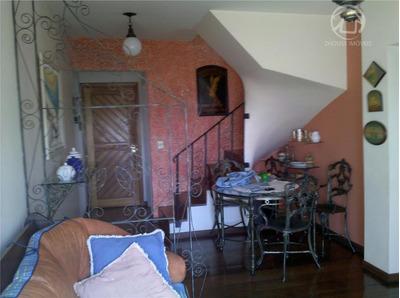 Cobertura Residencial À Venda, 186 M² Com 3 Dormitórios E 1 Suíte Na Vila Madalena, São Paulo - Co0340. - Co0340