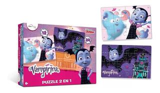 Puzzles 2 En 1 12 Y 24 Piezas Vampirina