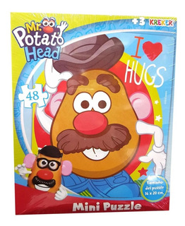 Mini Rompecabeza Puzzle Mr Potato Head X 48 Pzs Kreker