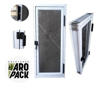 Raja De Aluminio 50x110 Vidrio Entero 4mm Herrero De Abrir