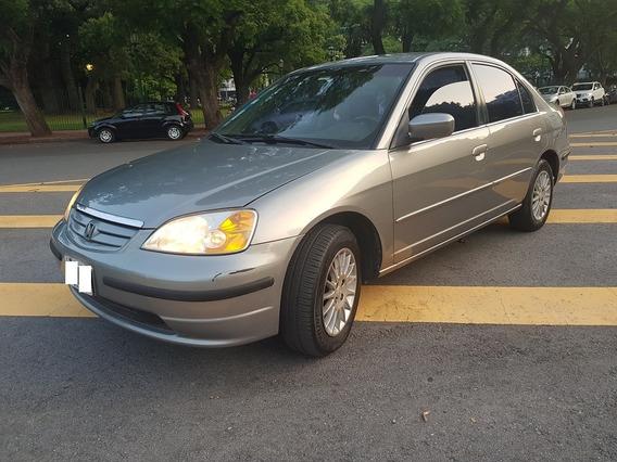 Honda Civic Ex C/cuero Automatico 1.7 2003