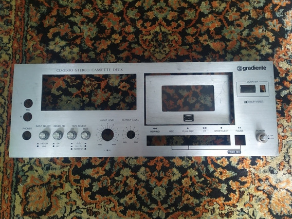 Painel Tape Deck Cd3500 - Gradiente