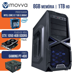 Cpu Gamer Mvx3 Intel I3 7100 3.9ghz Mem 8gb Hd 1tb Gtx 1050