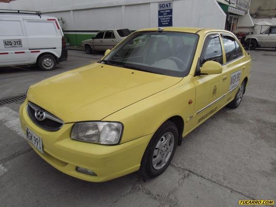 Taxis Hyundai Accent Verna Gls