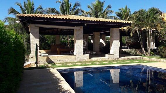 Casa Em Condomínio À Venda, 6 Quartos, 6 Vagas, Condomínio Marina Bonita - Zacarias/sp - 1113