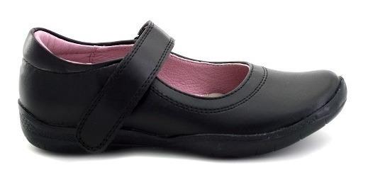 Zapato Escolar Tropicana Para Niña 74011 Negro [tro781]
