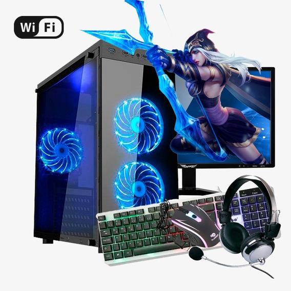 Pc Gamer Completo I7 4ª,16gb Ram Ddr3, Ssd 120gb, Rx 570 8gb